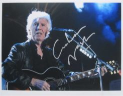 Graham Nash Signed Photo