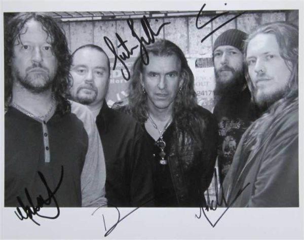 New Model Army Signed Photo