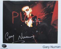 Gary Numan Signed Photo