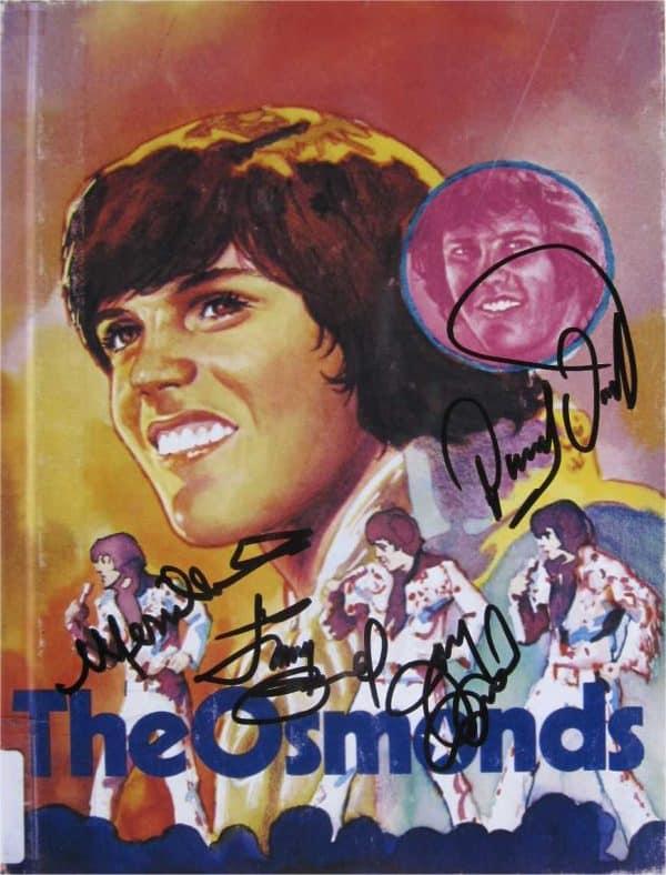 Osmonds Signed Photo