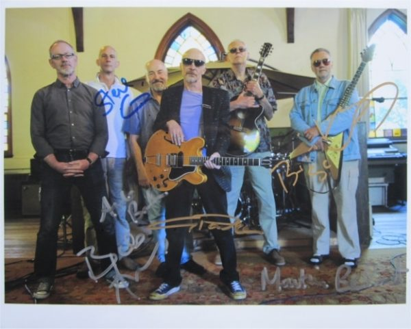 Graham Parker and the Rumour Signed Photo