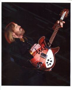 Tom Petty Signed Photo