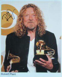 Robert Plant Signed Photo