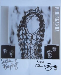 Propaganda Signed Photo