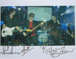 The Psychedelic Furs Signed Photo