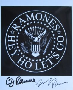 The Ramones Signed Photo