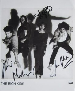 The Rich Kids Signed Photo