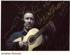 Jonathan Richman Signed Photo