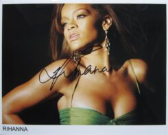 Rihanna Signed Photo