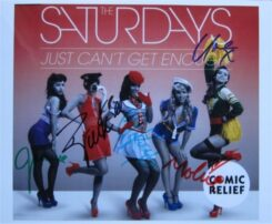 The Saturdays Signed Photo