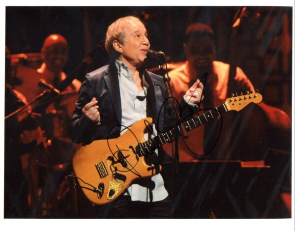 Paul Simon Signed Photo