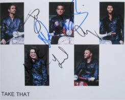 Take That Signed Photo