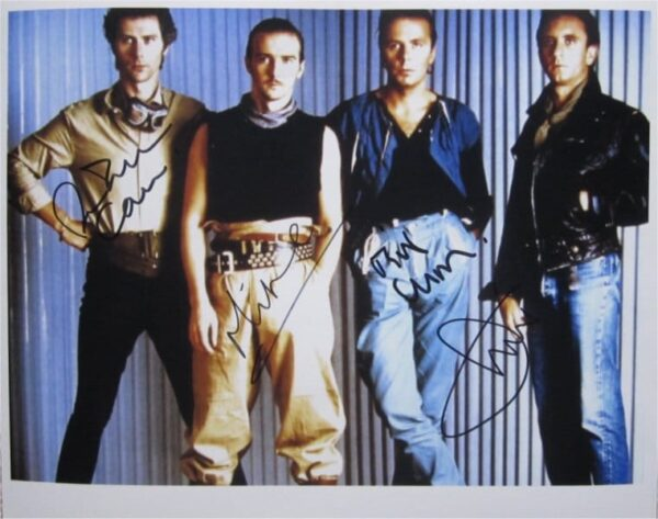Ultravox Signed Photo