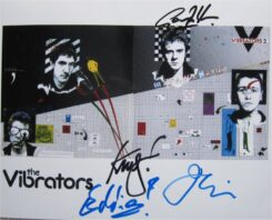 The Vibrators Signed Photo