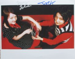 The White Stripes Signed Photo
