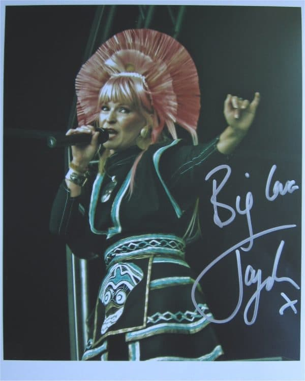 Toyah Willcox Signed Photo