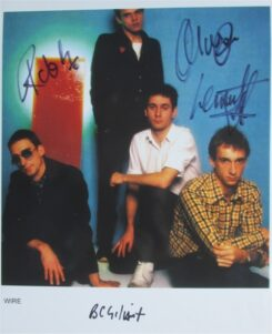 Wire Signed Photo