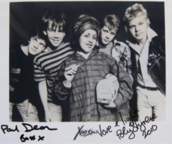X-Ray Spex Signed Photo