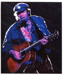 Neil Young Signed Photo