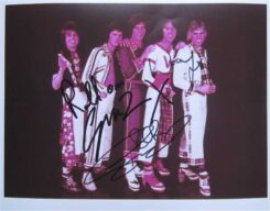 Bay City Rollers Signed Photo