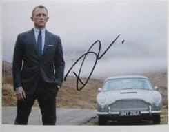 Daniel Craig Signed Photo