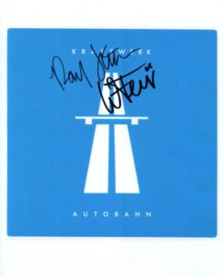 Kraftwerk Signed Photo
