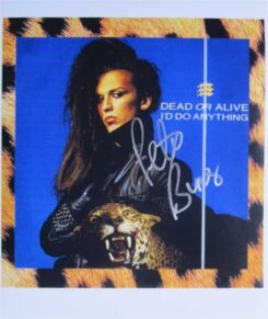 Pete Burns Signed Photo