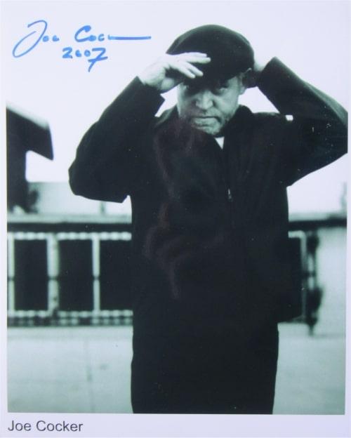 Joe Cocker Signed Photo