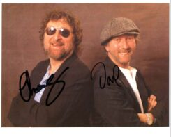 Chas and Dave Signed Photo