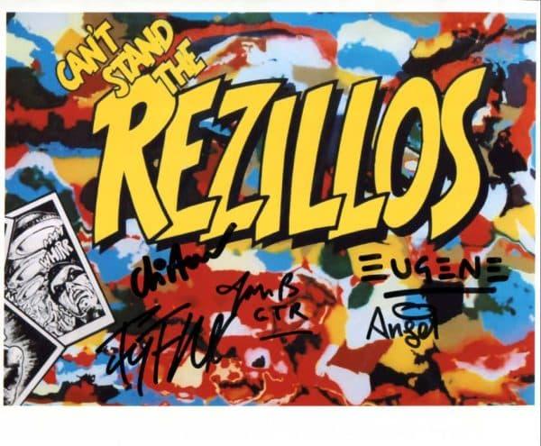 Rezillos Signed Photo