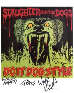 Slaughter and the Dogs Signed Photo