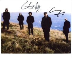 Elbow Signed Photo