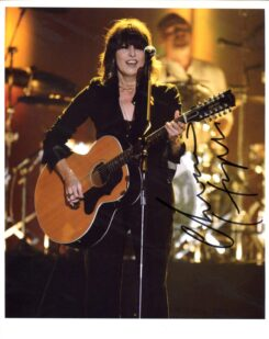 Chrissie Hynde Signed Photo