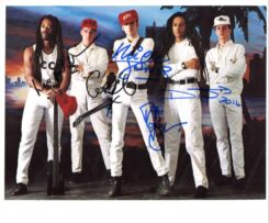 Big Audio Dynamite Signed Photo