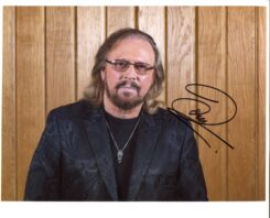 Barry Gibb Signed Photo