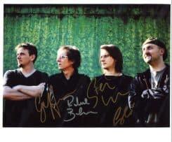 Porcupine Tree Signed Photo