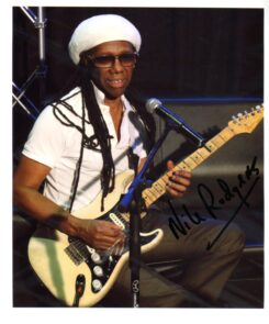Nile Rodgers Signed Photo