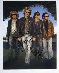 Bon Jovi Signed Photo