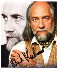 Mick Fleetwood Signed Photo