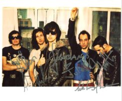 The Strokes Signed Photo