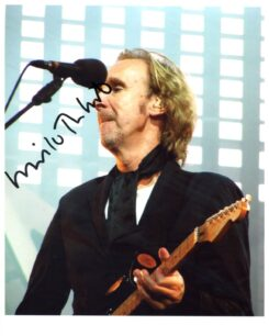 Mike Rutherford Signed Photo