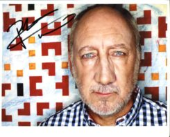 Pete Townshend Signed Photo