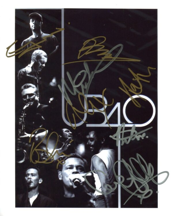 UB40 Signed Photo