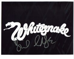 Whitesnake Signed Photo