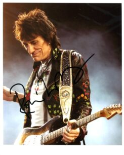 Ronnie Wood Signed Photo