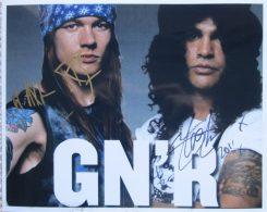 Gun'n'Roses Signed Photo