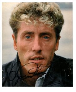 Roger Daltrey Signed Photo