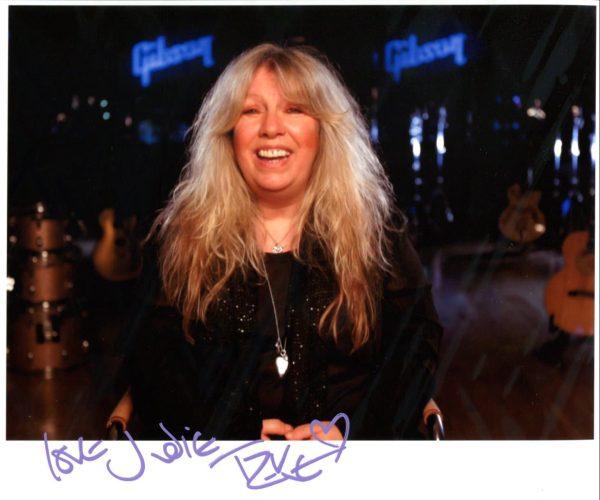 Judie Tzuke Signed Photo