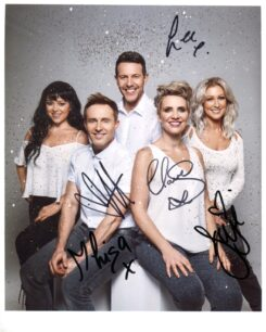 Steps Signed Photo