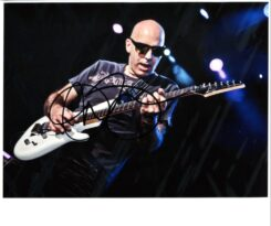 Joe Satriani Signed Photo